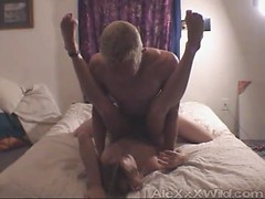 Pretty sexy lady gets fucked in her pussy doggystyle