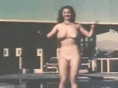 Beautiful vintage burlesque girls in classy lingerie show off their sexy dances moves
